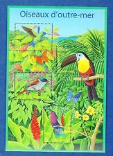 France Bloc N°56 Série Nature de FRance Oiseaux d'Outre-Mer 2003 Neuf Luxe