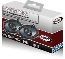 """VW MK2 Golf Rear Hatch Speakers Mac Audio 4x6"""" Speaker"""