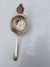 More details for vintage mv britannic white star line tea strainer in beautiful condition.