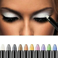 Pro Highlighter Eyeshadow Pencil Cosmetic Glitter Eye Shadow Eyeliner Pen Beauty