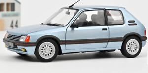 Peugeot 205 GTi 1.6 1988 Blu Topazio Topaze Blue Sport Cult 1:18 Norev 🤩🤩