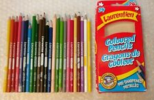 Laurentien Colored Pencil Crayons Box Set Complete 1-24 Low Numbers Discontinued