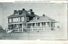 ~1910's FORT DUPONT DELAWARE CITY DE - Government Hospital - B&W view