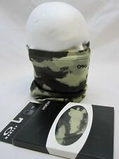 OAKLEY NECK GAITER GREEN CAMO GATOR NECK HEAD/FACE COVER CAMOUFLAGE TUBE MASK