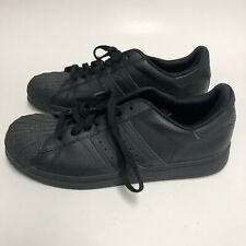 Adidas Superstar 2 Sneakers Casual Shoes G15722 Low Top Leather Black Mens 6