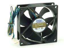 Avc DS08025B12UP019 Ball Bearing Heat-Sink/Case Fan Fan 80mm 4-Pin
