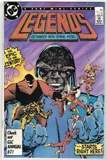 LEGENDS #1-6 COMPLETE MINI-SERIES - JOHN BYRNE ART/COVERS - DC COMICS/1986