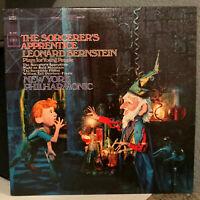 "LEONARD BERNSTEIN - The Sorcerer's Apprentice - 12"" Vinyl Record LP - EX"