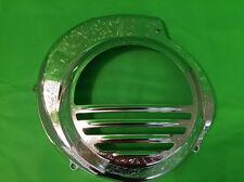 Chrome & Engraved Flywheel Cowl fits VESPA PX 125 150 200 Electric Start Models