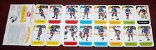 Post cereal panel 1982-83 New York Rangers