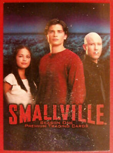 SMALLVILLE - SEASON ONE - COMPLETE BASE SET of 90 cards - Inkworks 2002