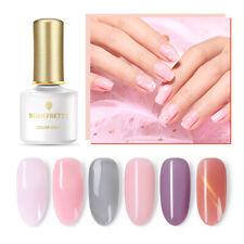 Born Pretty Rosa Esmalte Gel 6ml Serie Semi Transparente Gel UV Soak Off Nail Art