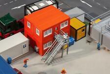 Faller 130135, 4 Bau-Container oranage, neu, OVP