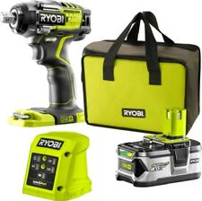 New Ryobi 18V ONE+ Brushless Impact Wrench Kit