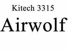 Kitech 3315 1/48 AirWolf Lobo del Aire Supercopter Helicopter Helicóptero