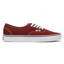 Vans Authentic Madder Brown True White Men's Skate Shoes Size 8