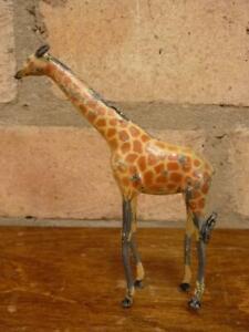 Nice vintage Britains Pre war lead zoo Giraffe figure