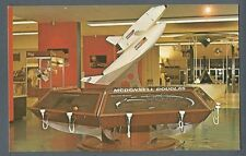 Postcard Kennedy Space Center, Model of the Space Shuttle Concept.