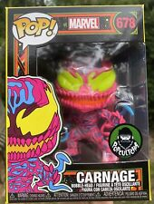 Marvel Blacklight - Carnage Black Light #678 Funko Pop Vinyl EXCLUSIVE