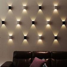 Applique Da Parete Lampada colorabile Luce Design Quadrato Luci LD520