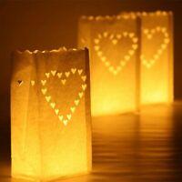 10pcs Paper Lantern Candle Bags Light Holder Birthday Wedding Home Party Decor