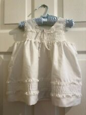 Vintage Cotton Baby Girl's Dress Sweet Lace Trim