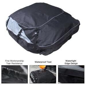 63x43 inch Car Roof Top Carrier Bag Rack Waterproof Storage Luggage Cargo Travel