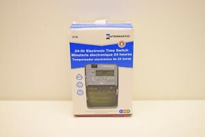 Intermatic DT104 24 Hour Indoor/Outdoor Electronic Time Switch - New