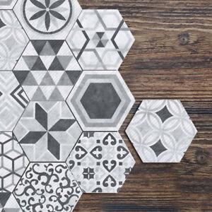 10 Pcs DIY Grey Self-adhesive Non-slip Bathroom Kitchen Floor Wall Tile Stickers