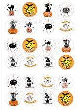 Halloween Eßbar Tortenaufleger Muffinaufleger Party Deko Kürbis Spinne Kostüm