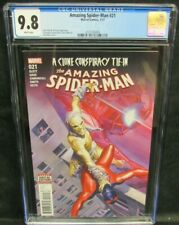 Amazing Spider-Man #21 (2017) Alex Ross Cover CGC 9.8 White Pages GG214