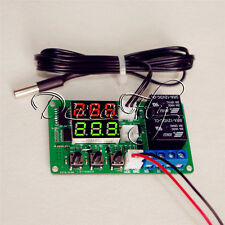 12V Digital Thermometer Temperature Controller Dual Relay Alarm Air Regulator