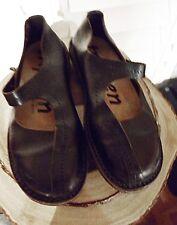Trippen blackish-brown shoes, size 41- USA 10