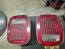 Vintage Grote 5097 Tail Light assembly.  SAE AILRST 76