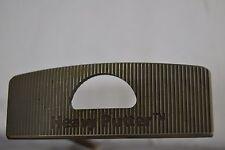 "Boccieri Golf Heavy Putter A3-M Stainless Steel Shaft RH 34"" Matted"