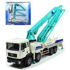 KDW 1:55 O Scale Diecast Concrete Pump Truck Construction Vehicle Cars With Box