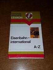 Eisenbahn international A-Z - DDR Lexikon Deutsche Reichsbahn 1979