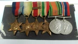 WW2 NAVY MEDAL GROUP PICTURES AND PAPERWORK