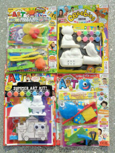 4 x CBEEBIES ART MAGAZINE BACK ISSUES ~ ~ NEW WITH GIFTS ~ ~