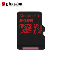 Kingston 64GB Canvas React A1 micro SDXC Memory Card UHS-I U3 V30 up to 90MB/s