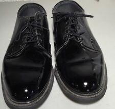 Bates Uniform Footwear 10.5 E Shiny Duty Black Shoes Man Made Materials EUC SDI