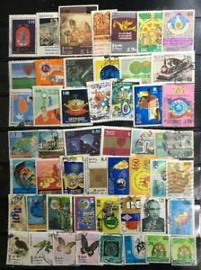 SRI LANKA :40 DIFF.LARGE COMM.ON TOPICALS, POSTALLY USED*