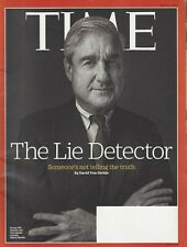 Time Magazine (July 3 2017) Robert Mueller~ Confederate Monuments ~G410