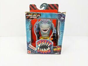 Vintage Mattel Street Sharks Blades Action Figure 1994 Series 1 Complete w/Box