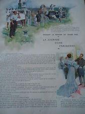 Le Grand Prix La Journée d'une Parisienne Article Original Print 1903