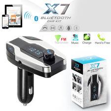X7 Bluetooth Sans fil Kit Voiture FM Transmetteur USB Chargeur MP3 Musique TF FR