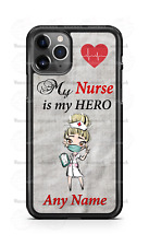 My Nurse is my Hero Healthcare Phone Case For iPhone Samsung S20 LG Google 4