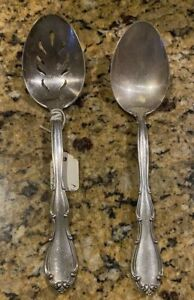 FONTANA BY TOWLE STERLING SILVER FLATWARE  SET OF SEVERING SPOONS