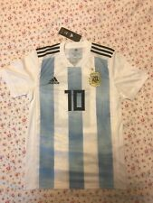 BNWT ADIDAS LIONEL MESSI ARGENTINA HOME JERSEY WORLD CUP 2018 Size S