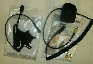 MSA Gallet Helmsprechgarnitur Headset für F1XF Helm und PTT für Sepura STP 8/9